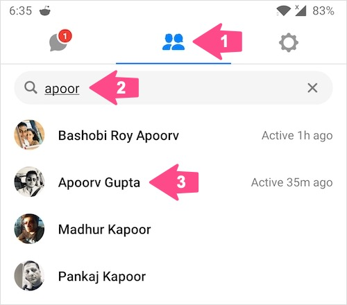 undo ignore messages on messenger 2020 without replying