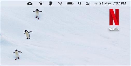 How to add Netflix shortcut to Mac desktop
