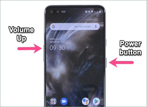 how to turn off OnePlus Nord phone