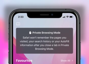 how to use private browsing in safari on iOS 15