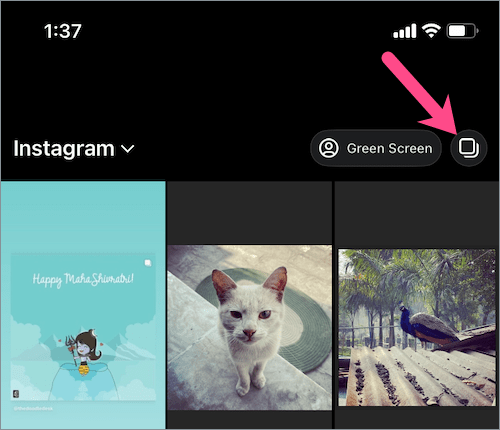 How to make reels on instagram from gallery