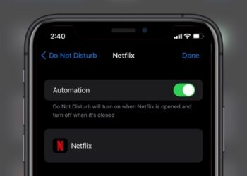 disable push notifications when watching Netflix on iPhone