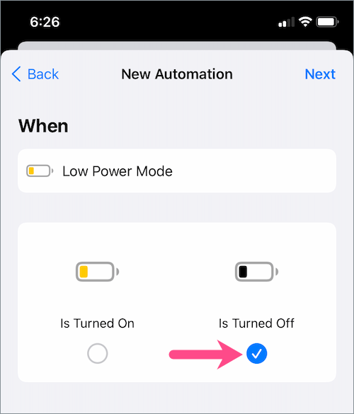 how to keep iPhone on low power mode all the time