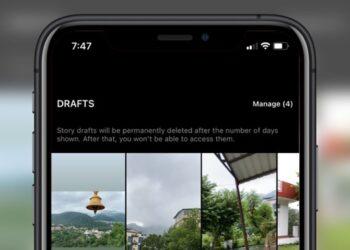 story drafts on instagram