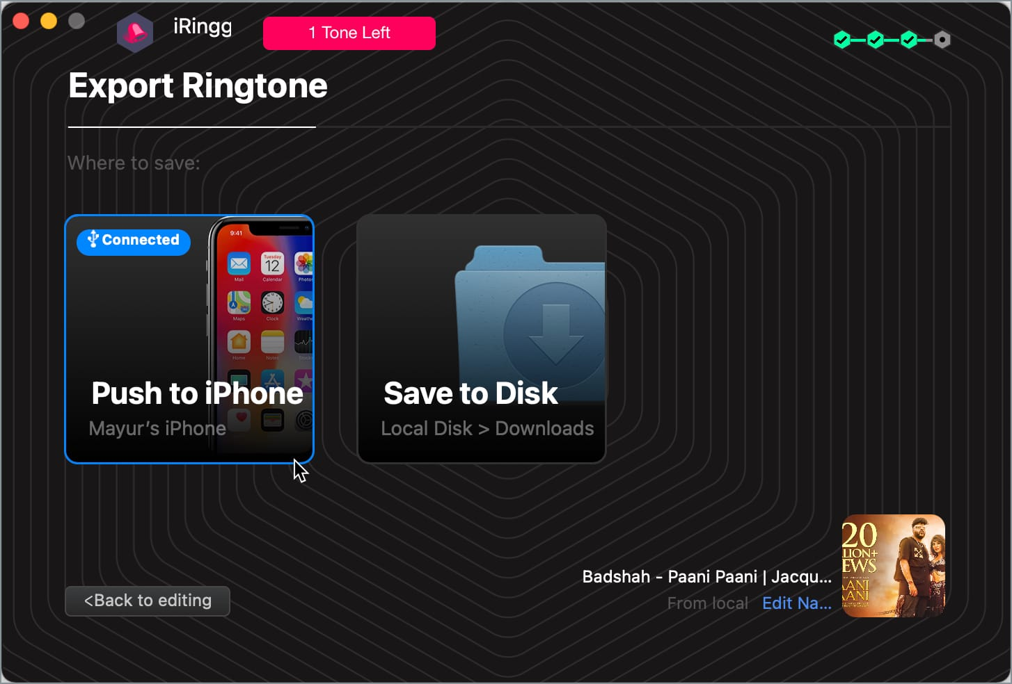 how to add ringtone to iPhone without using iTunes