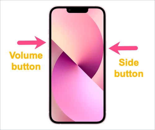 how to turn off iPhone 13