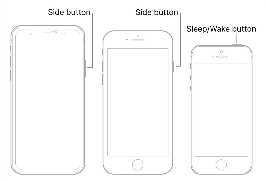 how to wake iPhone